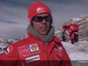Interview de Loris Capirossi à la présentation Ducati