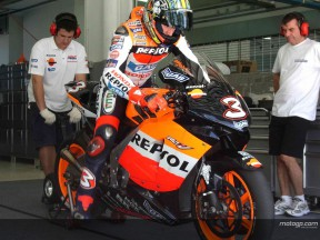 Tests at Sepang