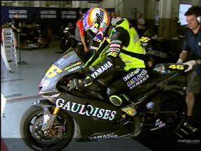 Yamaha Gauloises Team - Test Sepang