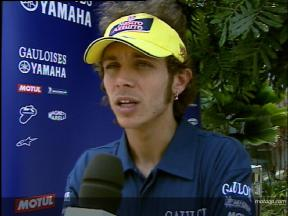 Valentino Rossi Interview - Sepang Test