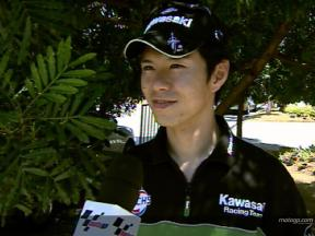 Interview de Shinya Nakano - Sepang Test