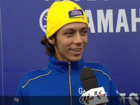 Valentino RossiInterview in Bormio