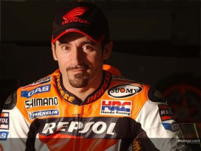 Biaggi box Test Sepang 2005