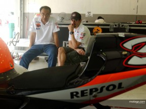 Biaggi & Erv Test Sepang 2005