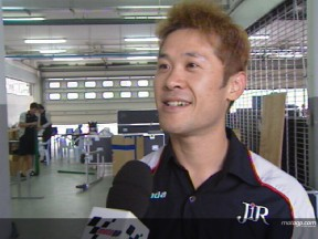 Makoto Tamada interview -  Sepang Test