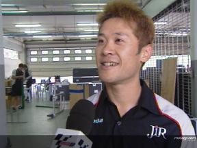 Interview de Makoto Tamada -  Sepang Test