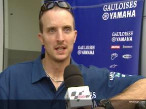 Colin Edwards Interview -  Sepang Test