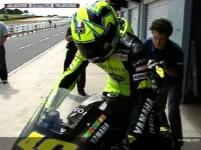 Third day of tests at Phillip Island