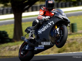 Xaus action Phillip Island test