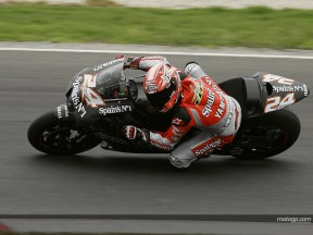 Elias action Phillip Island test