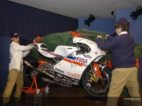 Fantic desvelando moto