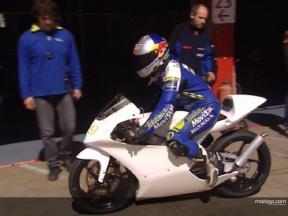 Los aprendices de la MotoGP Academy debutan en el Circuit de Catalunya