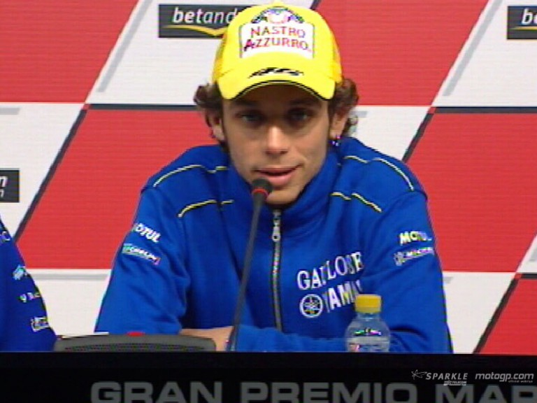 Valentino Rossi interview - Press Conference