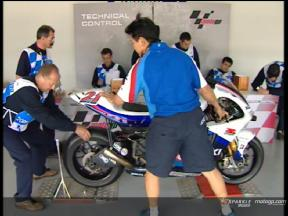 Día de control para los pilotos del MotoGP