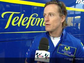 Sete Gibernau interview after the FP2