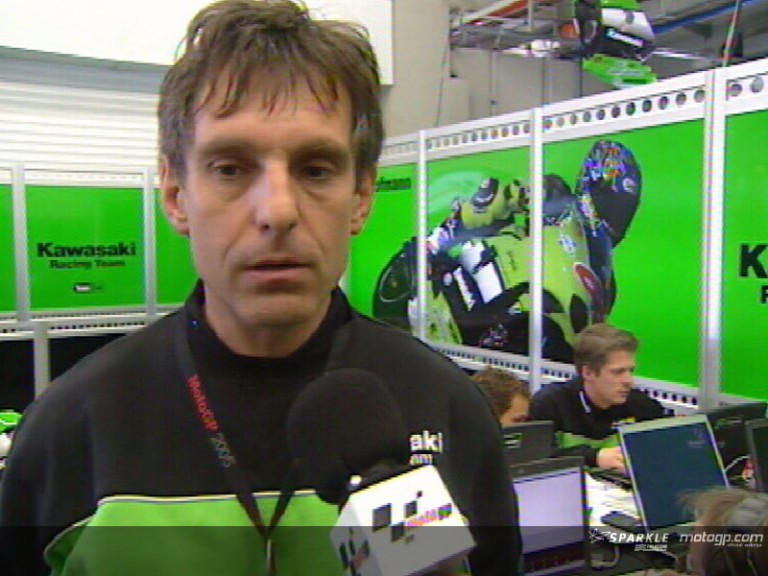 The analysis of Kawasaki Team Manager Harald Ekl