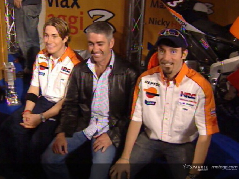 Team Repsol Honda pay homage to Doohan at Jerez presentation