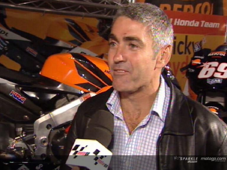 Mick Doohan talks about the GP in Jerez