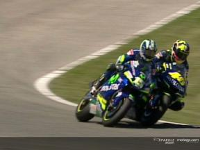 The incident between Rossi and Gibernau from every angle