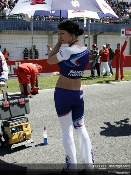 Paddock Girls - Jerez