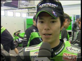 決勝レース: 中野真矢 インタビュー