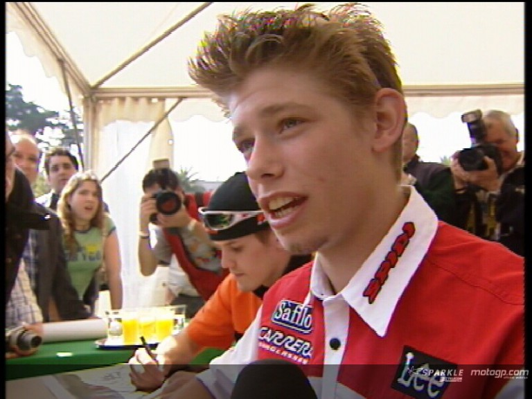 Casey Stoner pre-event interview