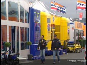 A look at the MotoGP paddock hospitalities