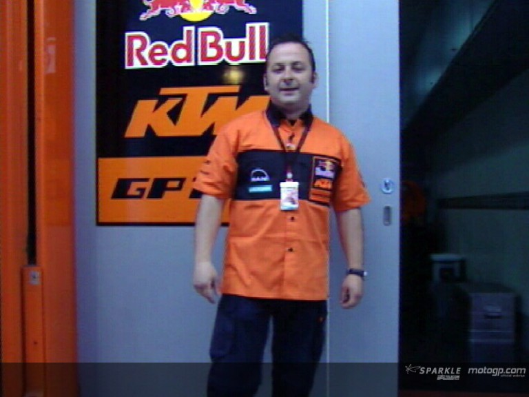 A visit of the KTM truck