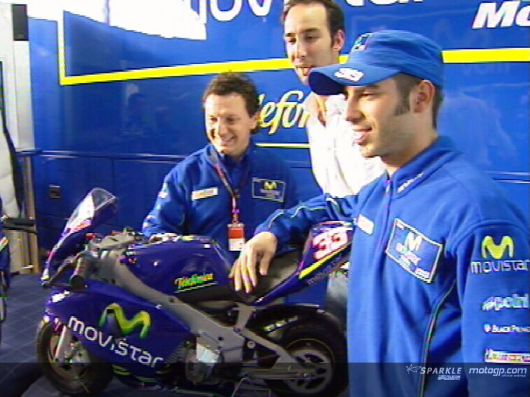 Polini unveils Movistar MotoGP replica