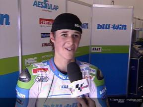 Thomas Luthi Interview nach dem QP2