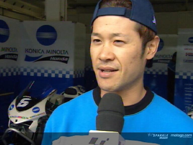 Makoto Tamada interview