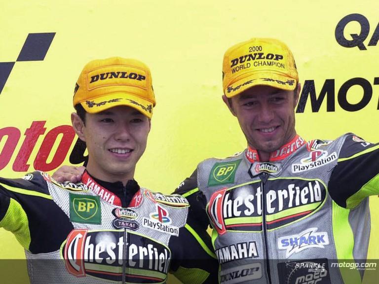 Jacque & Nakano podium 2000