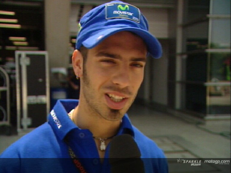 Marco Melandri pre-event interview