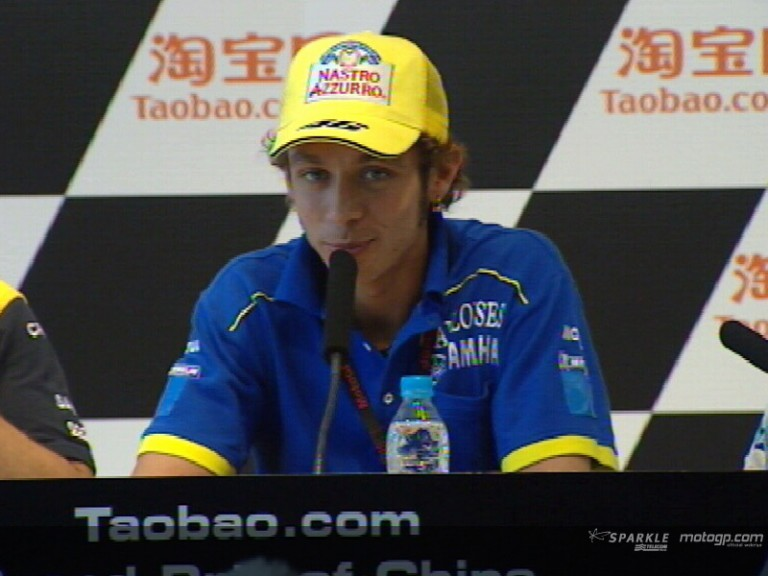 Valentino Rossi pre- event press conference interview