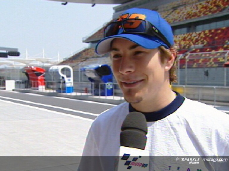Nicky Hayden pre-event interview