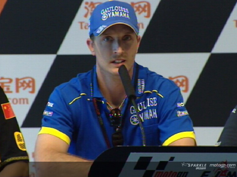 Colin Edwards interview at the pre-event press conference