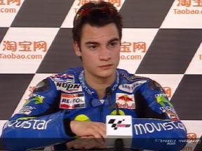 Daniel Pedrosa interview after the QP2
