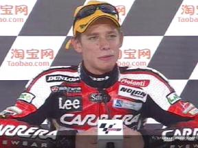 Intervista a Casey Stoner post gara