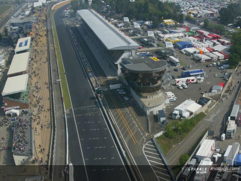Le Mans aerial view 2004