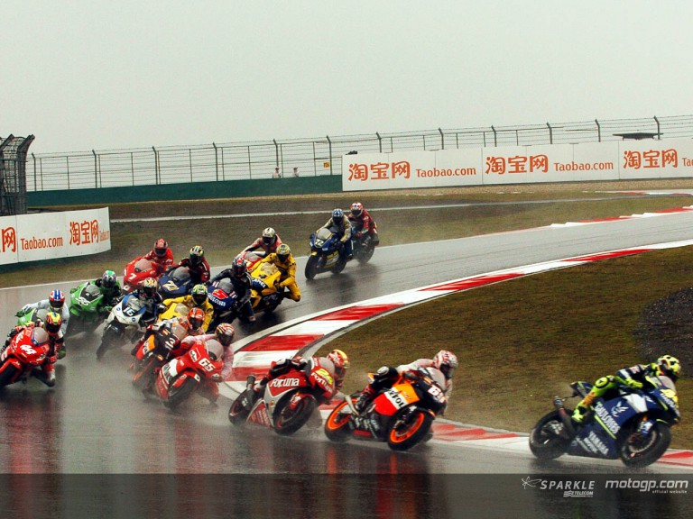 Group MotoGP Shamghai