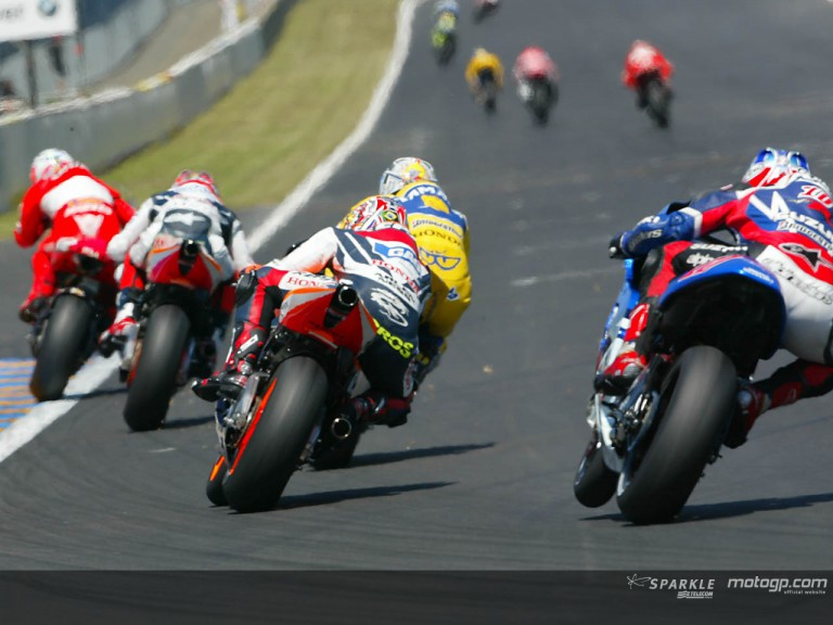 Group MotoGP Le Mans 2004