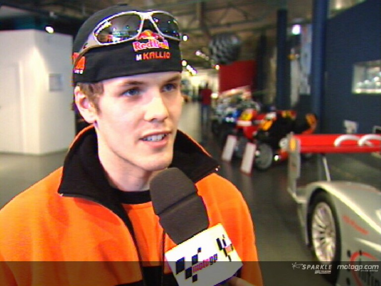 Mika Kallio pre-event interview