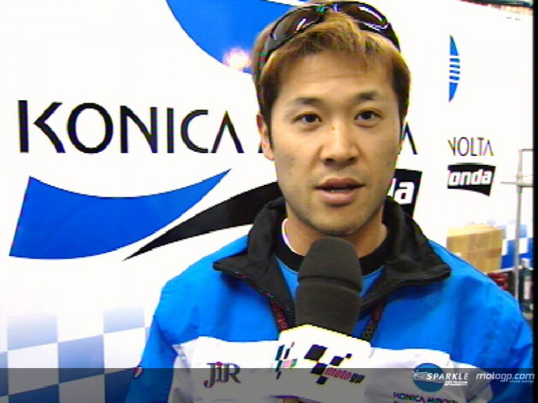 Makoto Tamada pre-event interview