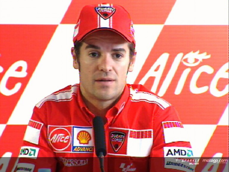 Carlos Checa pre-event press conference interview