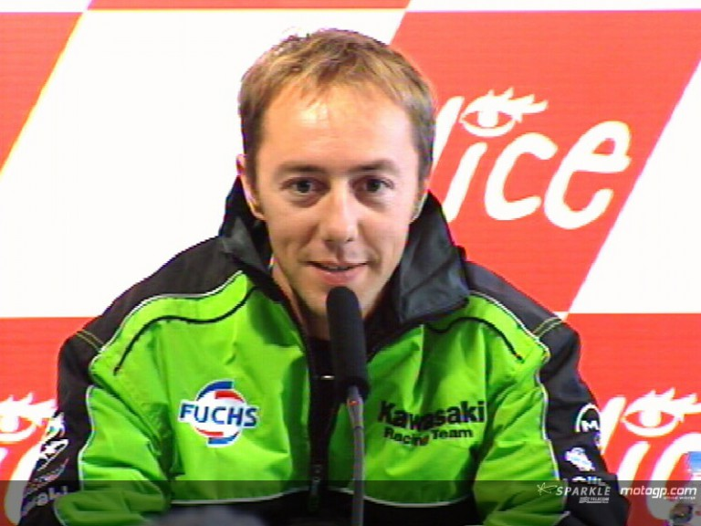 Olivier Jacque pre-event press conference interview