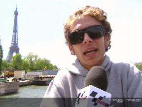 Valentino Rossi pre-event interview