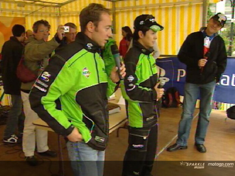 Riders visit Le Mans for a special day of activity