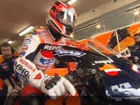 MotoGPクラス ウォーミングアップ: ビデオクリップ