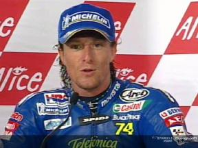 Sete Gibernau interview after the race