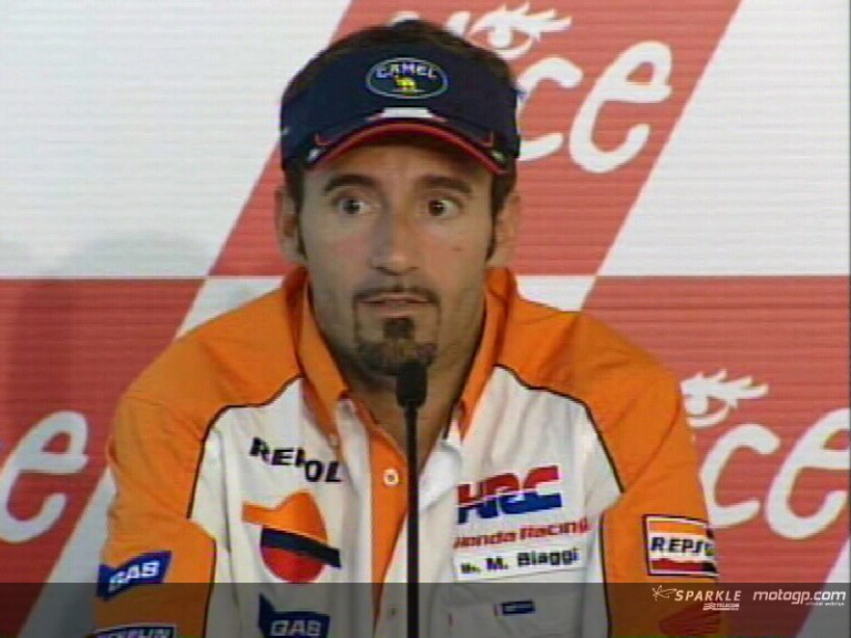 Max Biaggi interview - Pre-event Press Conference